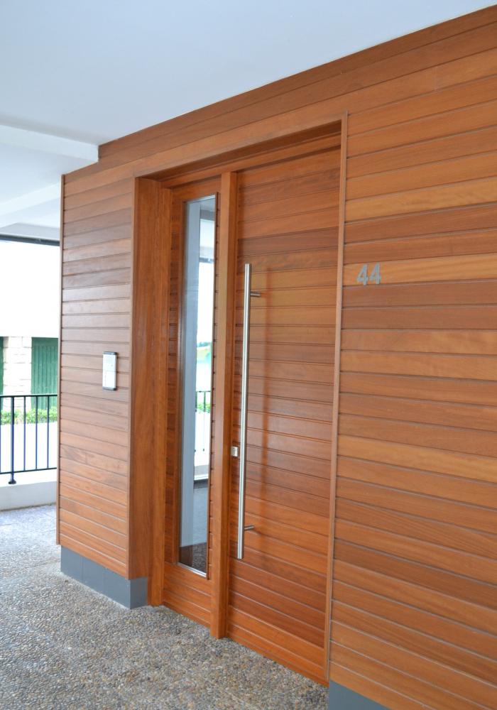 Puerta exterior a medida puertas itxi fabricamos for Puertas galvanizadas medidas